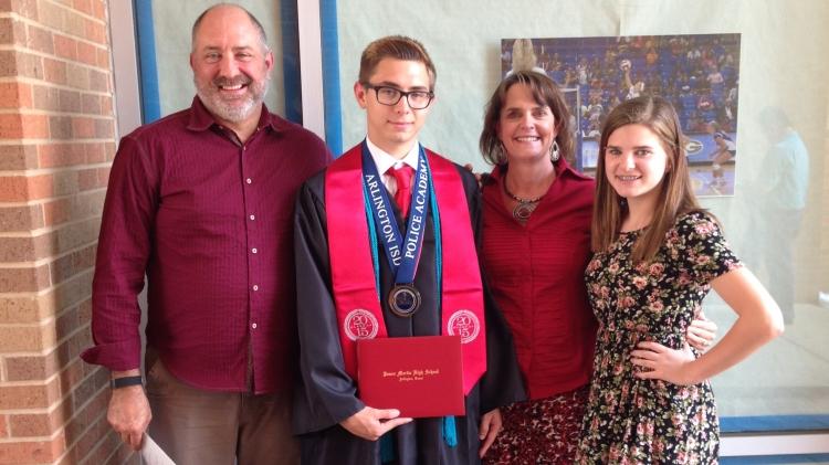 Vollmerings Connor's grad 2015