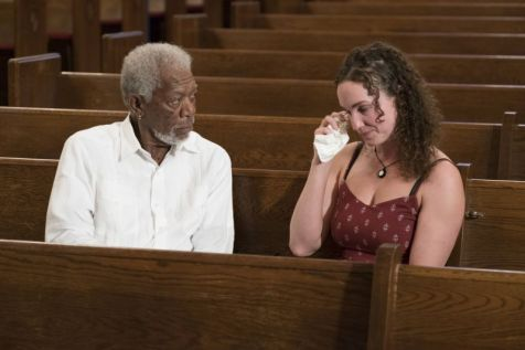 Morgan Freeman & Megan Phelps-Roper