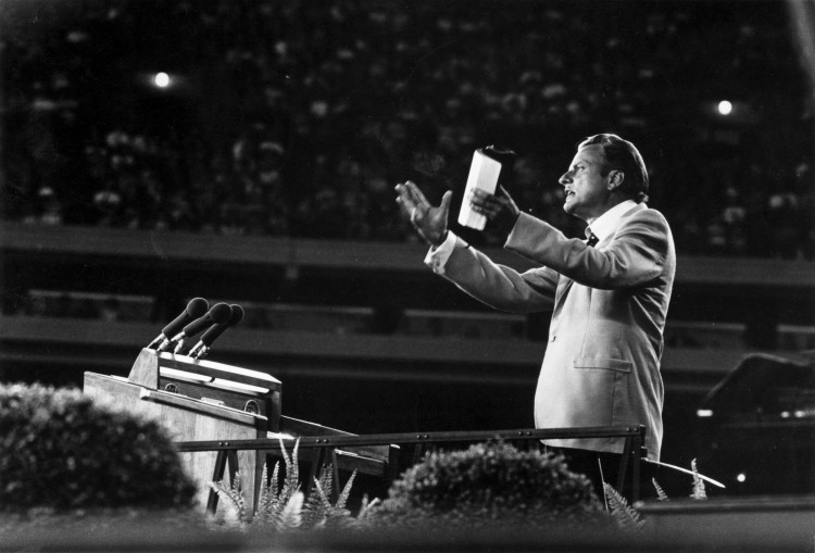 Image: Billy Graham Speaks